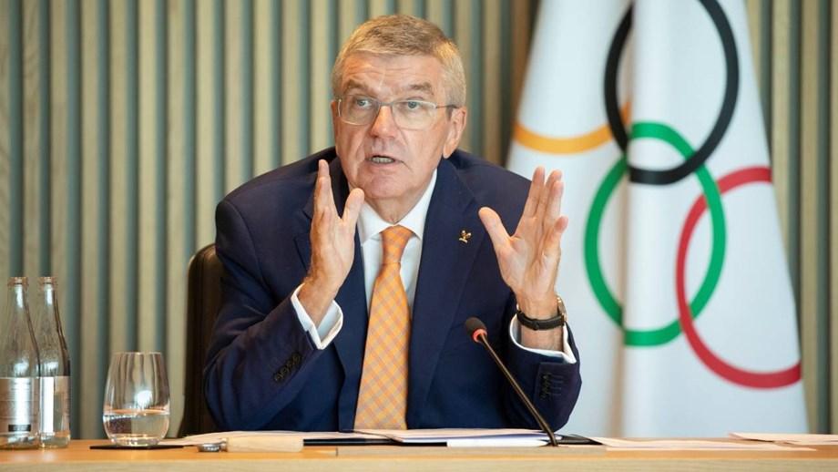 Presidente do COI diz que 'ainda é cedo' para afastar incertezas sobre os Jogos de Tóquio
