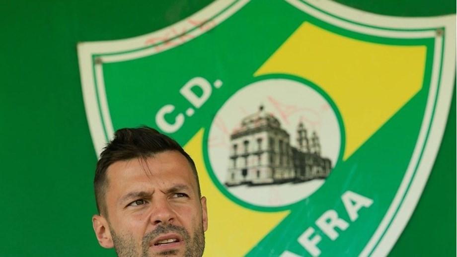Filipe Cândido quer ver o Mafra a lutar pelas posições da frente da 2.ª Liga