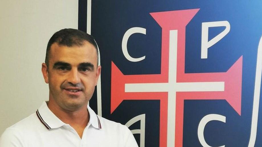 Filipe Martins e os objetivos do Casa Pia: «Queremos fazer um campeonato tranquilo»