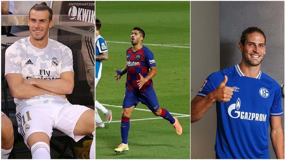 Mercado: empresário de Bale confirma negociações com o Tottenham, Suárez 'desiste' da Juventus e Gonçalo Paciência tem novo clube