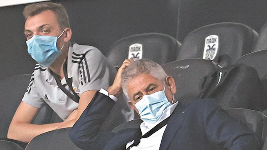 Desaire na Liga dos Campeões é contrariedade para Vieira