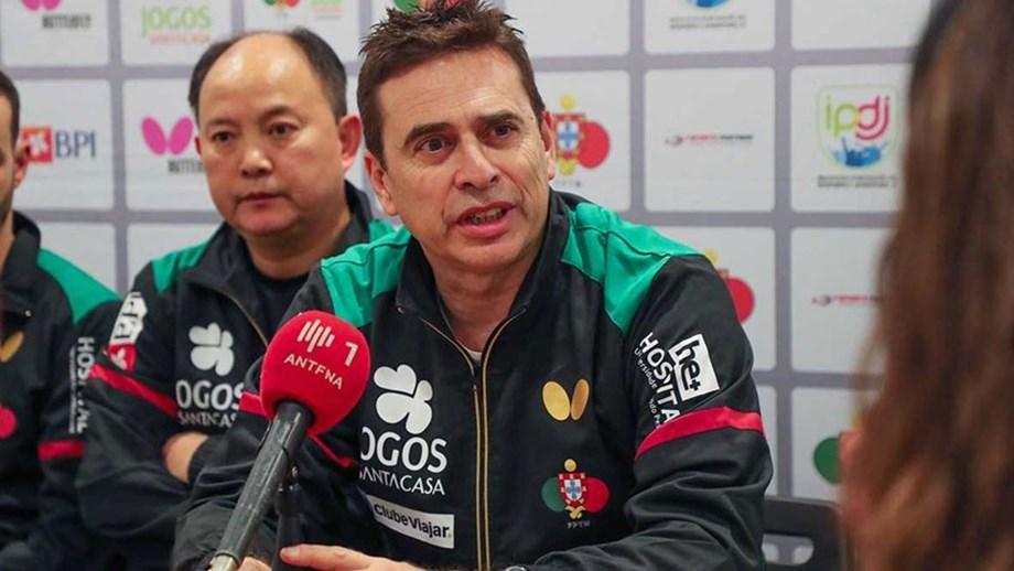 Pedro Moura eleito vice-presidente da federação europeia de ténis de mesa