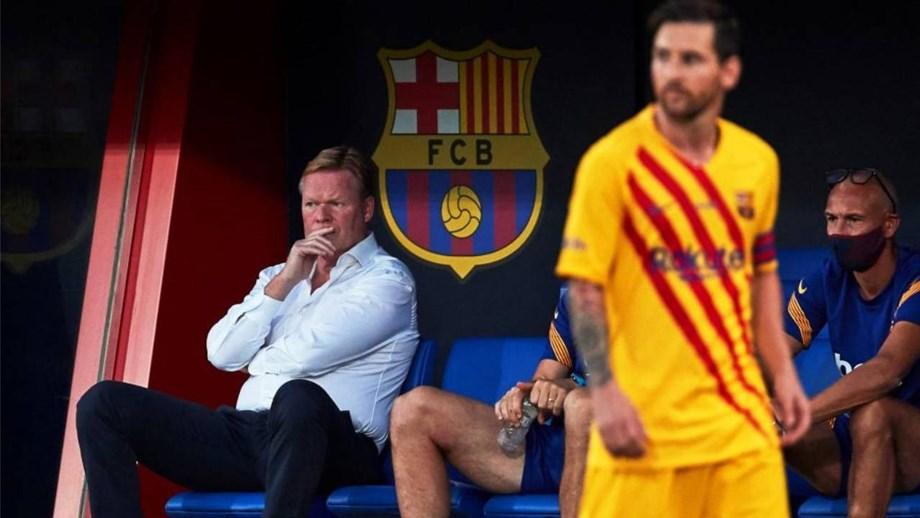 De Messi a Trincão: as dúvidas e as certezas de Koeman no Barcelona