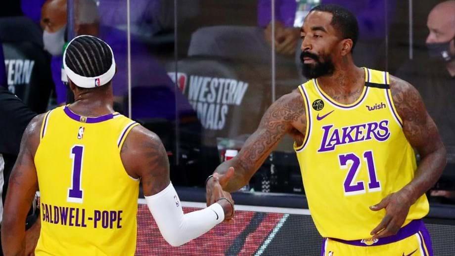 Lakers entram a vencer Nuggets na final da Conferência Oeste da NBA