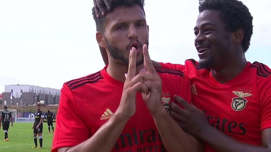 Benfica B goleia Casa Pia com Gonçalo Ramos a fazer hat trick