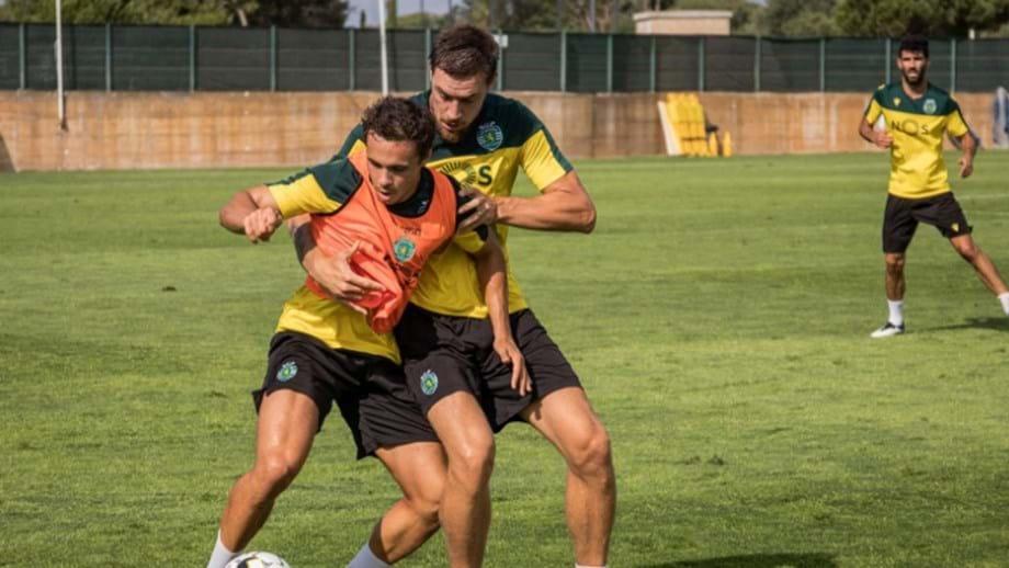 Estágio do Sporting reforçado com sete jovens da equipa B