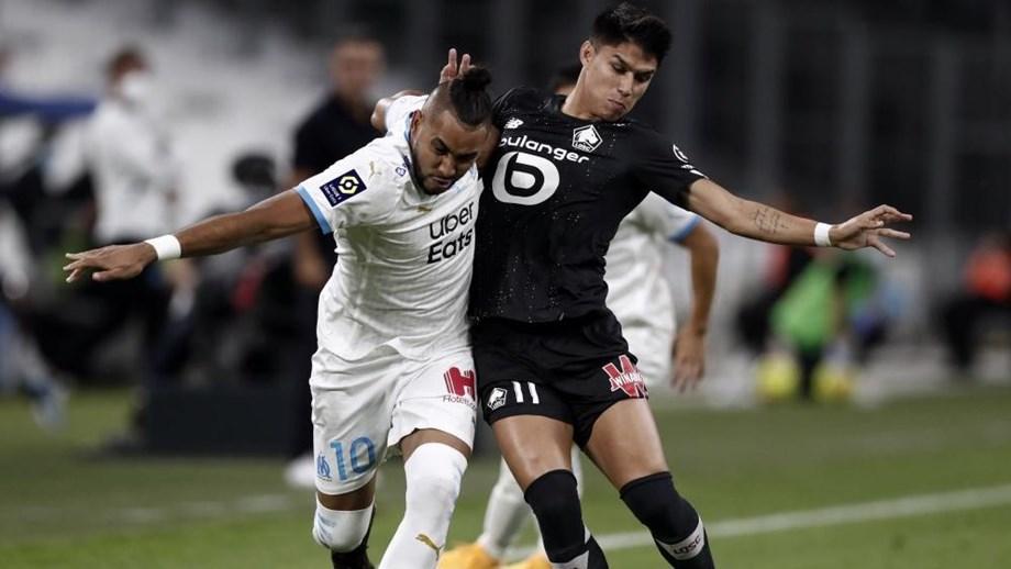 Marselha de André Villas-Boas empata a um golo diante do Lille