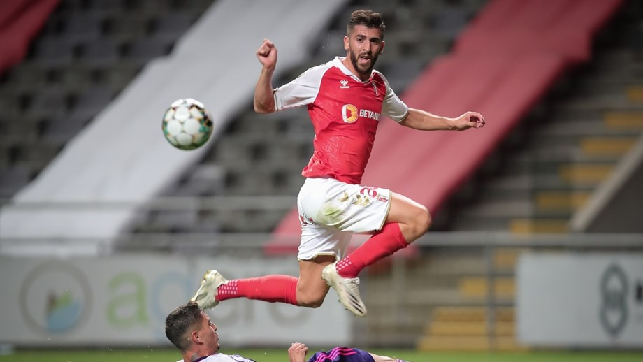 Paulinho corre para o regresso no Sp. Braga