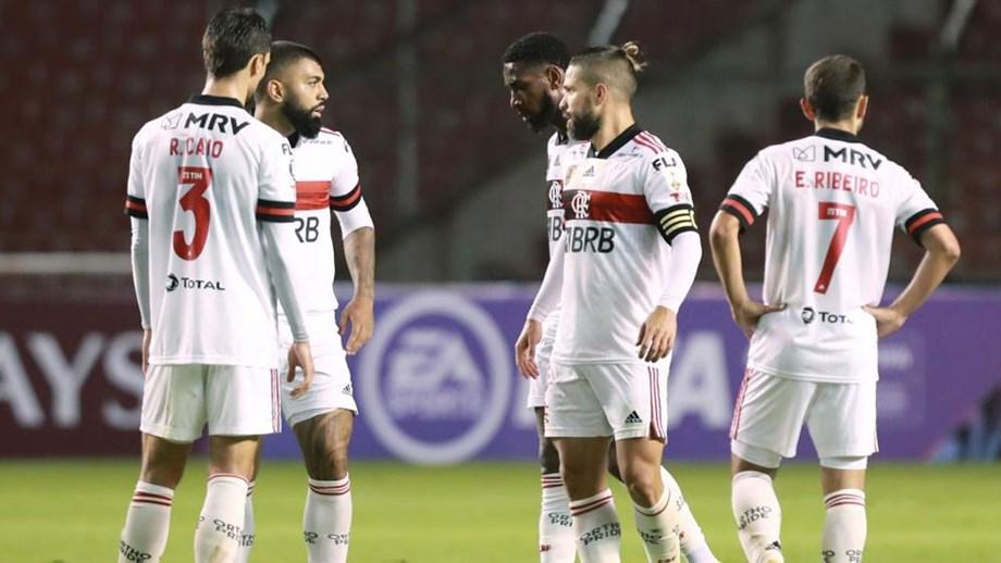 Flamengo tem seis jogadores infetados com Covid-19