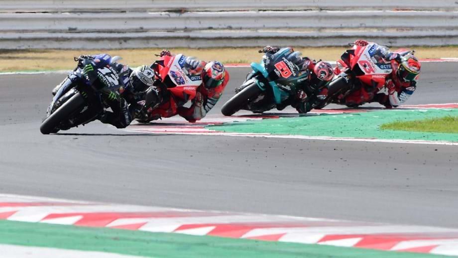 Jack Miller mostra como Quartararo o 'obrigou' a abandonar o GP Riviera de Rimini