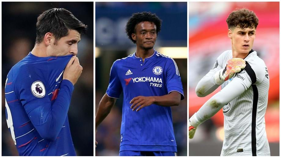 Kepa, Cuadrado ou até Morata: em Inglaterra dizem que estes são os maiores flops da história do Chelsea