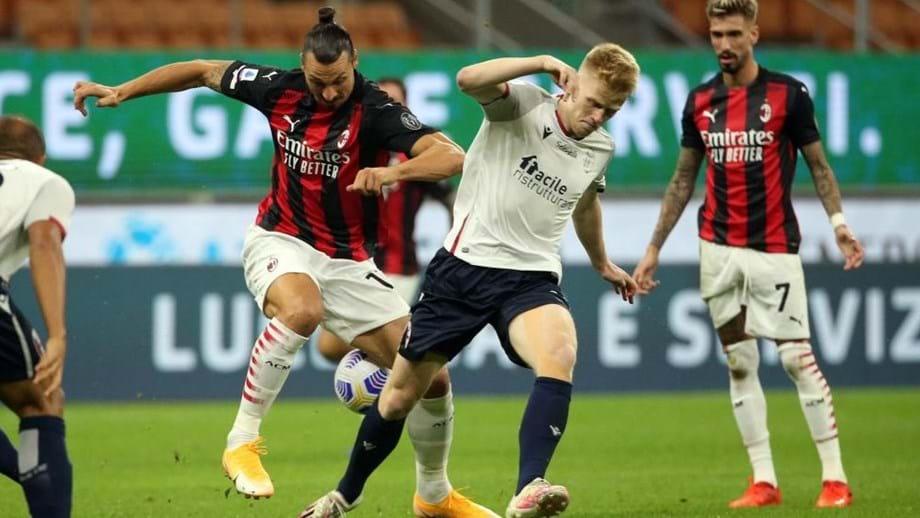 Ibrahimovic abre o marcador de cabeça