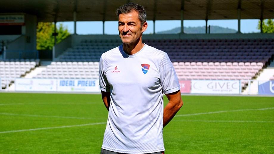 Treinador do Gil Vicente está recuperado da Covid-19