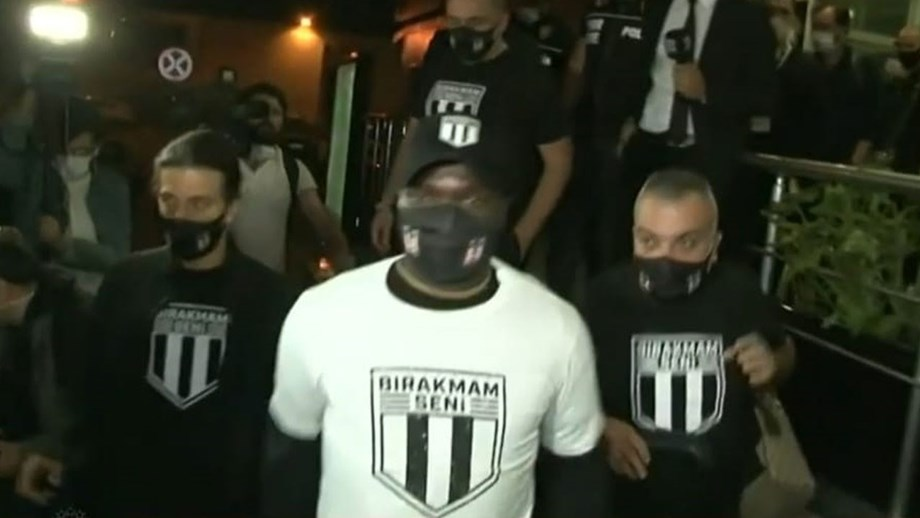 Aboubakar em Istambul para assinar pelo Besiktas