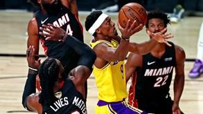 LA Lakers-Miami Heat: segundo jogo da final do playoff da NBA