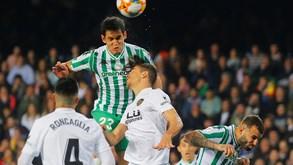 Valencia-Betis: duelo com portugueses
