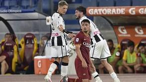 Udinese-AS Roma: Paulo Fonseca em busca do primeiro triunfo