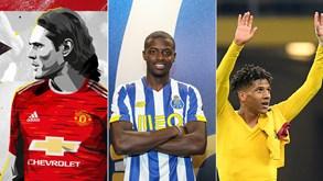 Mercado: Cavani, Telles e Partey agitam último dia em Inglaterra; FC Porto e Benfica garantem reforços e João Mário volta ao Sporting