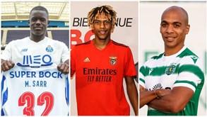 O mercado dos três grandes: todos os reforços de FC Porto, Benfica e Sporting