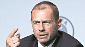 Aleksander Ceferin admite Euro'2020 só num país