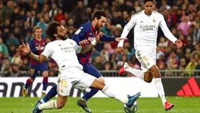 Barcelona-Real Madrid: Superclássico aquece noite em Espanha