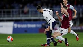 Burnley-Tottenham: Mourinho procura ampliar série positiva