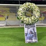 Maradona teve homenagem especial no Estádio Azteca
