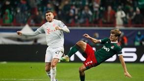 RB Salzburgo-Bayern Munique: último contra primeiro no Grupo A da Champions