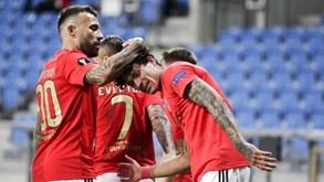 Benfica-Rangers: triunfo vale liderança isolada do grupo