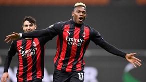 AC Milan-Lille: duelo entre portugueses na Europa