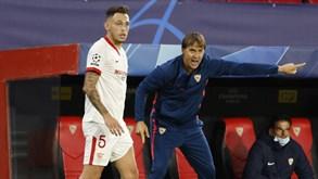 Sevilha-Osasuna: equipas com saldo neutro entre golos marcados e sofridos