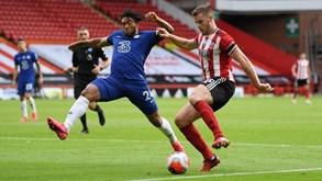 Chelsea-Sheffield United: forasteiros em situação delicada na tabela classificativa