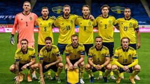 Dinamarca-Suécia: suecos desfalcados devido a restrições relacionadas com a Covid-19