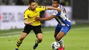 Hertha Berlim-Borussia Dortmund: regressar à ação no campeonato