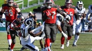 TB Buccaneers-LA Rams: ação na NFL