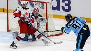 CSKA Moscovo-Novosibirsk: líder do Oeste na KHL em ação