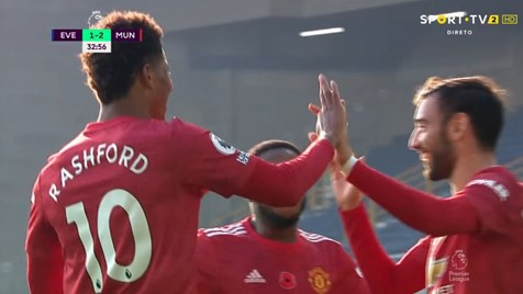 Bruno Fernandez queria os ocasionais, mas acabou marcando um grande gol: os portugueses contra o Everton