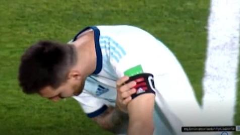 Argentinos preocupados por Messi: el as vomitó antes del partido contra Paraguay