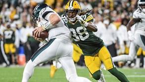 Green Bay Packers-Philadelphia Eagles: duelo de opostos na NFL