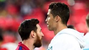 Barcelona-Juventus: Messi e Cristiano Ronaldo voltam a encontrarem-se