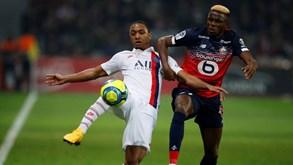 Lille-Paris Saint-Germain: jogo grande com muitas ausências de peso