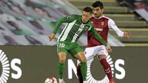Sp. Braga-Rio Ave: Carvalhal reencontra ex-equipa
