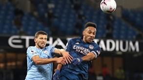 Arsenal-Manchester City: duelo da Taça da Liga