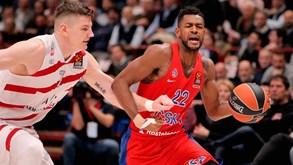 Olimpia Milano-CSKA Moscovo: russos vão fechar o ano na frente