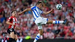 Athletic Bilbao-Real Sociedad: dérbi basco para fechar o ano