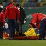 André Pereira preocupa com lesão no joelho esquerdo