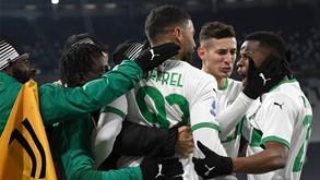 Sassuolo-SPAL: jogo dos oitavos-de-final da Taça de Itália