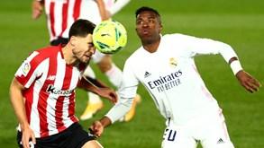 Real Madrid-Athletic Bilbau: meia-final da Supertaça de Espanha