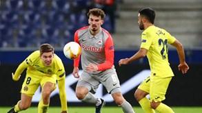 Villarreal-RB Salzburgo: austríacos têm de marcar três golos fora