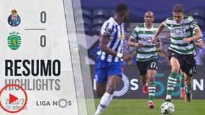 O Resumo Do Fc Porto Sporting Veja Os Principais Lances Do Jogo Videos Jornal Record